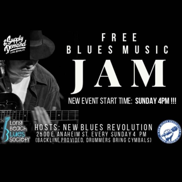 New Blues Revolution Blues Music Jam