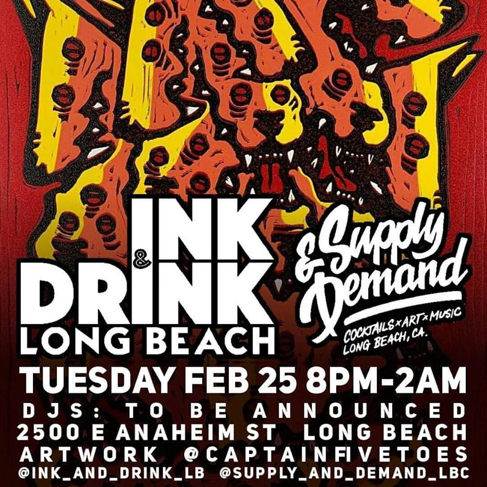 Ink and Drink at Supply & Demand