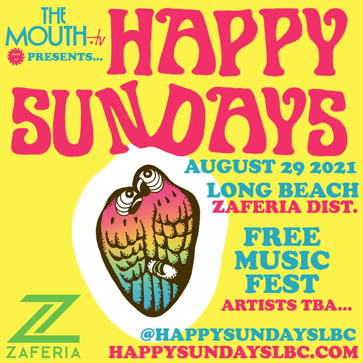 Happy Sundays LBC in the Zaferia District, Long Beach
